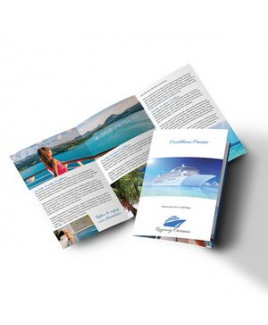 "PaperSplash 9"" x 16"" Tri-Fold Brochure"
