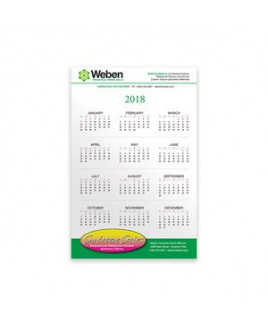 "PaperSplash 5 3/8"" x 8 3/8"" Wall Calendar"