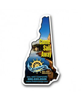 New Hampshire State Magnet