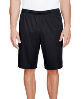 """A-4 Men's 9"""" Inseam Pocketed Performance Shorts"""
