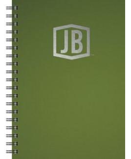 "Deluxe Cover Series 3 Medium NoteBook (7""x10"")"