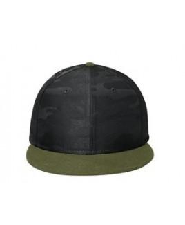 New Era® Camo Flat Bill Snapback Cap