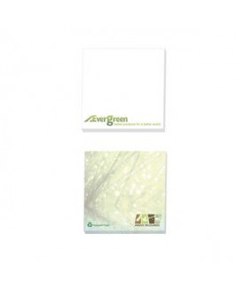 """3""""x3"""" BIC® Ecolutions® Recycled Adhesive 100-Sheet Notepad"""