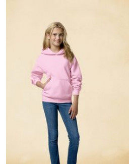 Hanes Printables Youth 7.8 oz. EcoSmart® 50/50 Pullover Hood