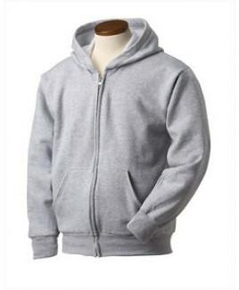 Hanes Printables Youth 7.8 oz. EcoSmart® 50/50 Full-Zip Hood