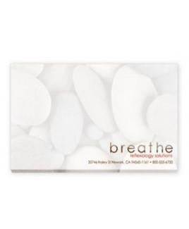 "5""x3"" BIC® Ecolutions® Adhesive 25 Sheet Notepad"