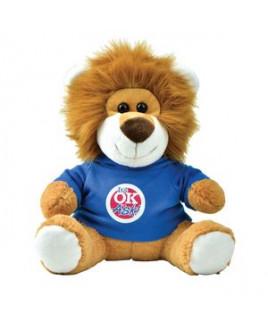 Plush Lion with T-Shirt