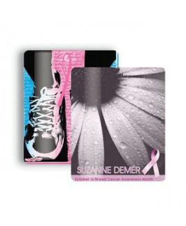 "Breast Cancer Awareness 2.5""x3.5"" Gift Card Stock Lanyard Card"