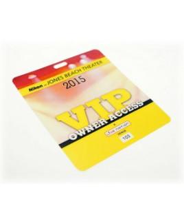 """2.5"""" x 3.5"""" Laminate Cardstock Lanyard Card - 10 mil"""