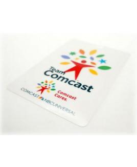 "3.5""x 5"" Gift Card Stock Lanyard Card"