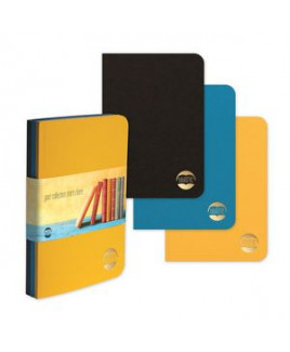 """BrightNotes™ TriPac NotePad w/GraphicWrap (3 Count) (5""""x7"""")"""