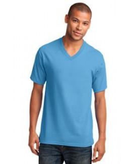 Port & Company® Men's Core Cotton V-Neck T-Shirt