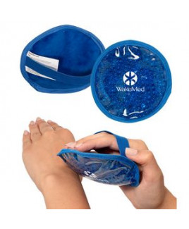 Round Hot/Cold Pack w/Plush Backing