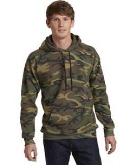 Port & Company® Men's Core Fleece Camo Pullover Hooded Sweatshirt