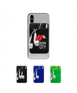 Mobile Device Pocket & Earbuds Set
