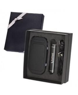 Pool-Side Wireless Speaker & Power Bank Gift Set