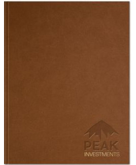 """Rustic Leather Flex - Large NoteBook (8.5""""x11"""")"""