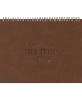 """The President™ Leather Front Monthly Planner w/ Chip Back (11""""x8.5"""")"""