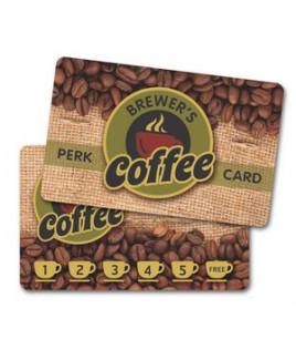 Plastic Wallet Card - 30 mil