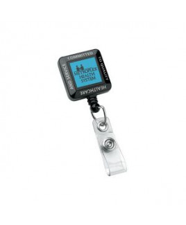 Square Perfect Value Badge Holder