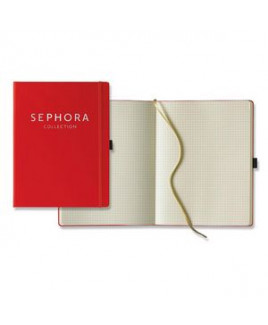Paros Large Ivory Journal w/ Graph Pages