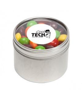 Skittles® in Sm Round Window Tin