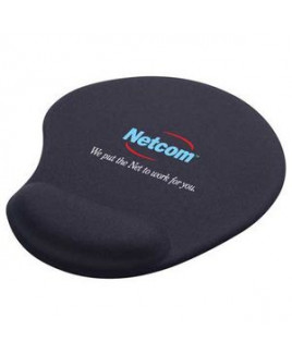 Solid Jersey Gel Mouse Pad / Wrist Rest