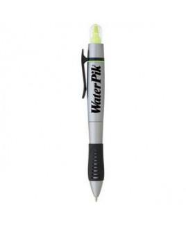 Dual-Tip Ballpoint Pen-Highlighter