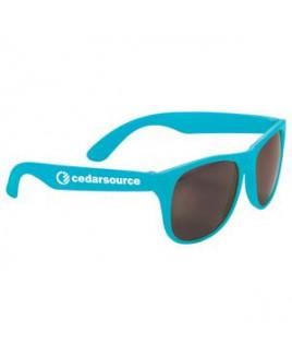 Solid Retro Sunglasses