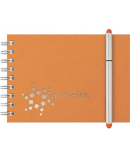 "Classic StenoPad Journal Stretch Pen Set (5""x7"")"