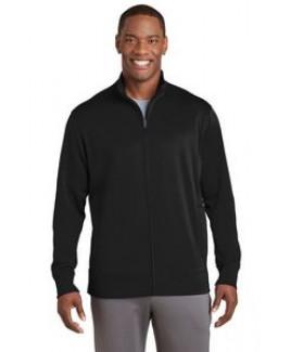 Sport-Tek® Men's Sport-Wick® Fleece Full-Zip Jacket