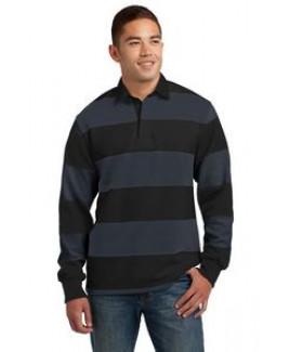 Sport-Tek® Men's Classic Long Sleeve Rugby Polo