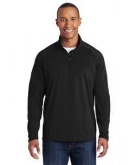Sport-Tek® Men's Sport-Wick® Stretch 1/2-Zip Pullover Sweatshirt