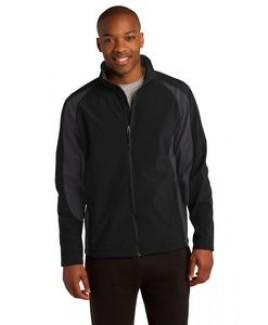 Sport-Tek® Men's Colorblock Soft Shell Jacket