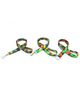 """Air Imported 7/8"""" Digitally Sublimated Lanyard"""