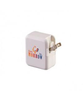 Dual Port AC to USB Adaptor