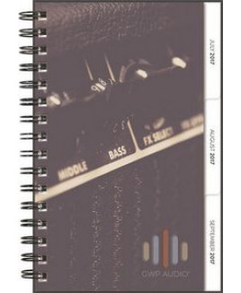 """Small ClearView TabbedQuarterly™ Planner w/Academic Filler (5.5""""x8.5"""")"""