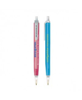 BIC® Tri-Stic® Clear Pen