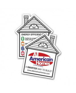 Double Sided House Magnet