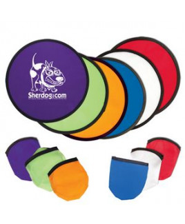 Folding Flyer Disc w/Case