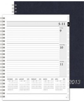 "XeoPlanner™ Leatherette Organizer (7""x8.75"")"