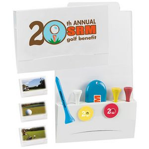 """BIC Graphic® 4-2-1 Golf Tee Packet - Value Pac w/2 1/8"""" Tees"""