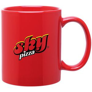 11oz C-Handle Mug (Red)