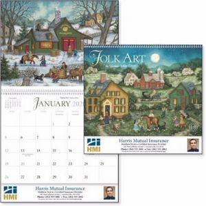 Triumph® American Folk Art Appointment Calendar