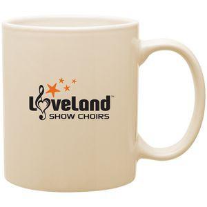 11oz C-Handle Mug (Almond)