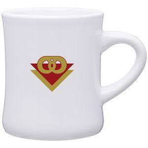 10oz Diner Mug (White)