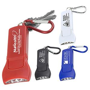 """Beamer"" 4 LED Keyholder Keylight w/Carabiner Clip (Overseas)"