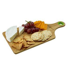 Bamboo Cheese Board w/Silicone Ring
