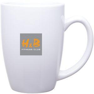 14oz Contour Mug (White)