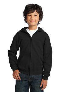 Gildan® Youth Heavy Blend™ Full-Zip Hooded Sweatshirt